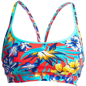 Funkita Sports T-shirt zippé Femme, aloha from hawaii